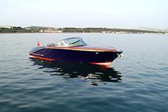 Купить катер Энджел Классик в Стамбуле. Продажа катеров и яхт Yahtastambul.com. На сайте есть две модели катеров для покупки. Катер имеет мотор мощностью 190 л.с. и длину 7.20 метров